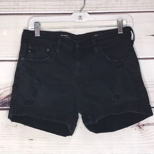 AG Adriano Goldschmied The Hailey Black Distressed